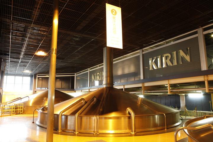Beer Factory Tour Japan