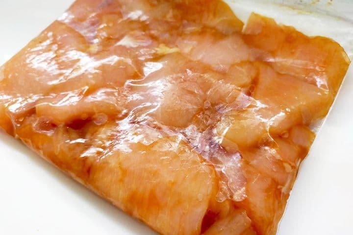 胸 ハム 鶏 レンジ 肉