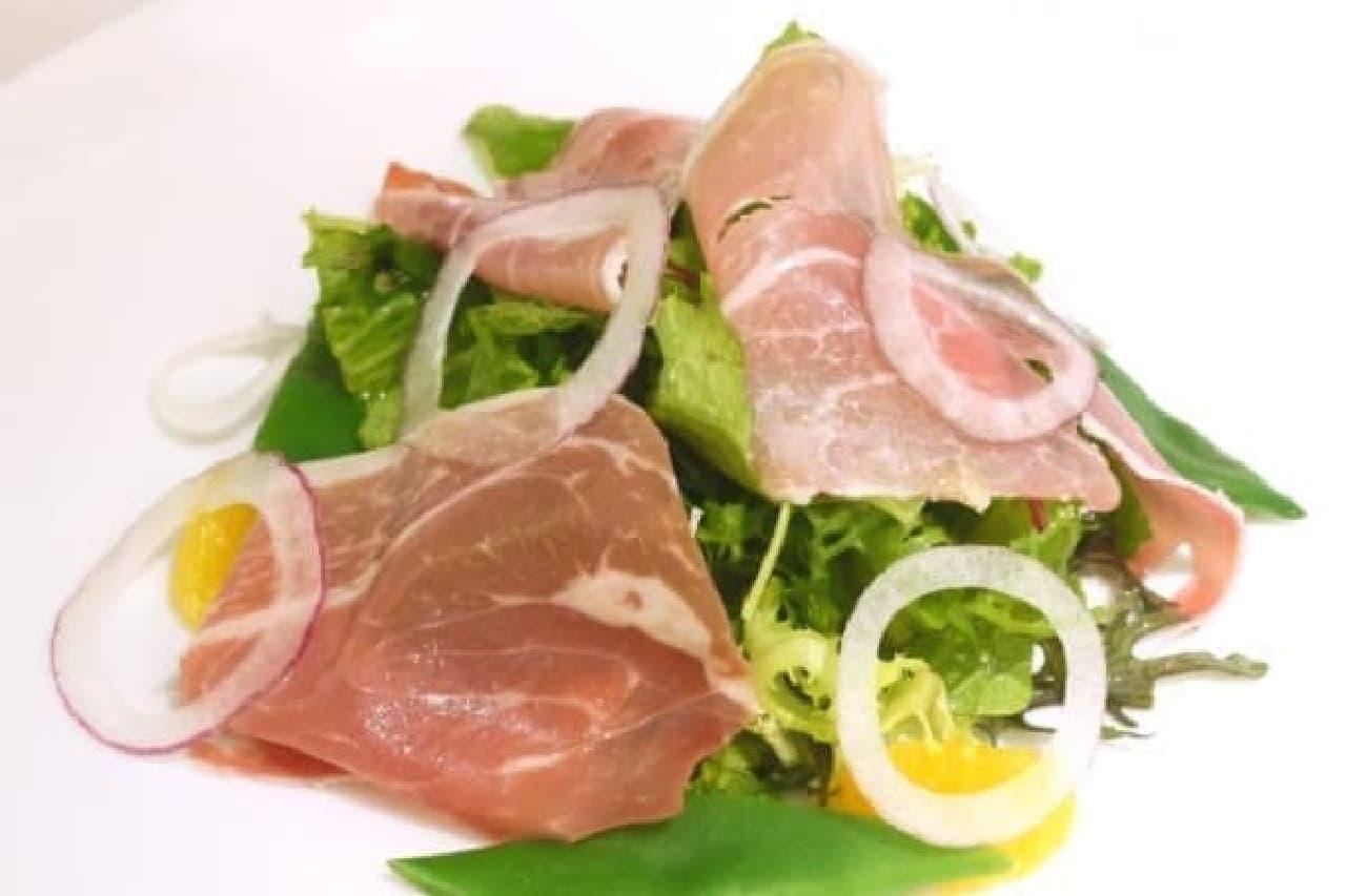 牧歌的なサラダ