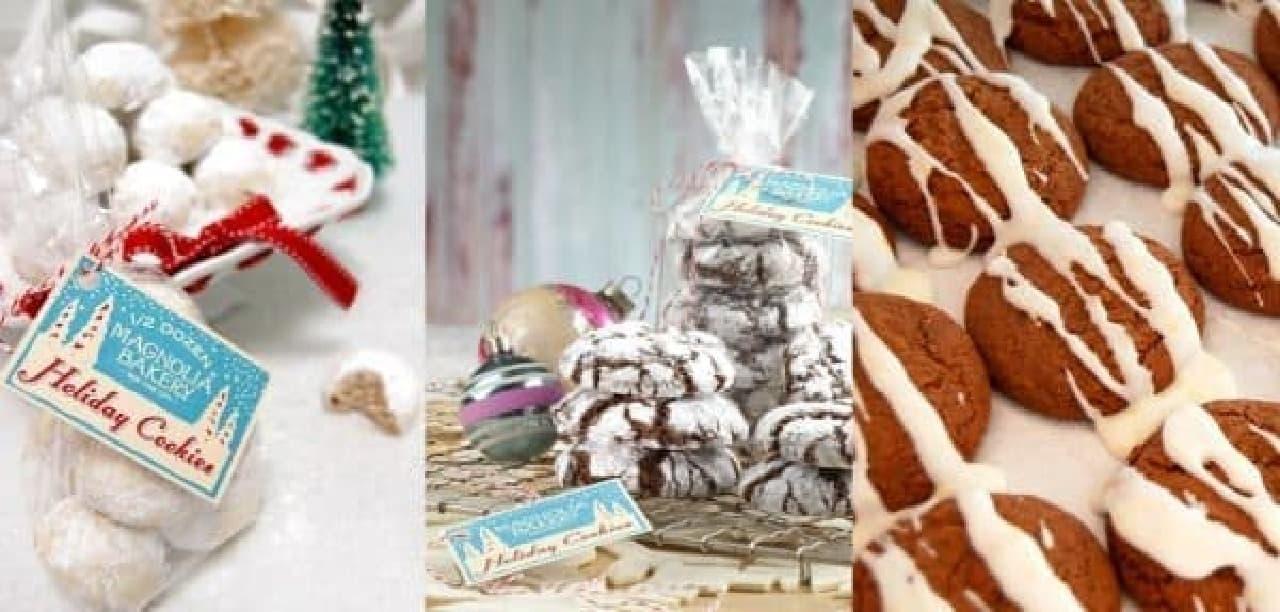クリスマス限定クッキーも