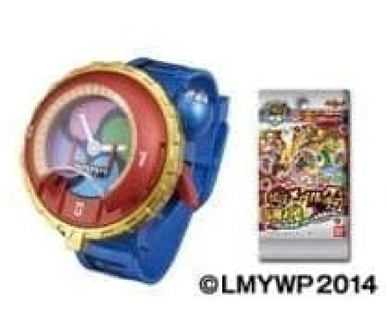 「DX 妖怪ウォッチ タイプ零式」と「妖怪メダル零 古典ノ弐」のセット