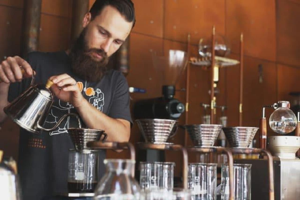 こだわりのコーヒーを提供する Single Origin Roasters