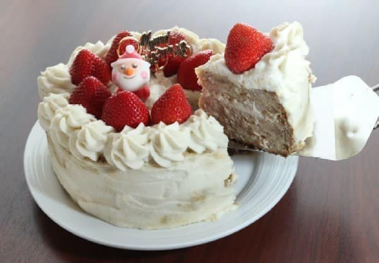 どう見てもケーキだけど、中身はやきとり!?