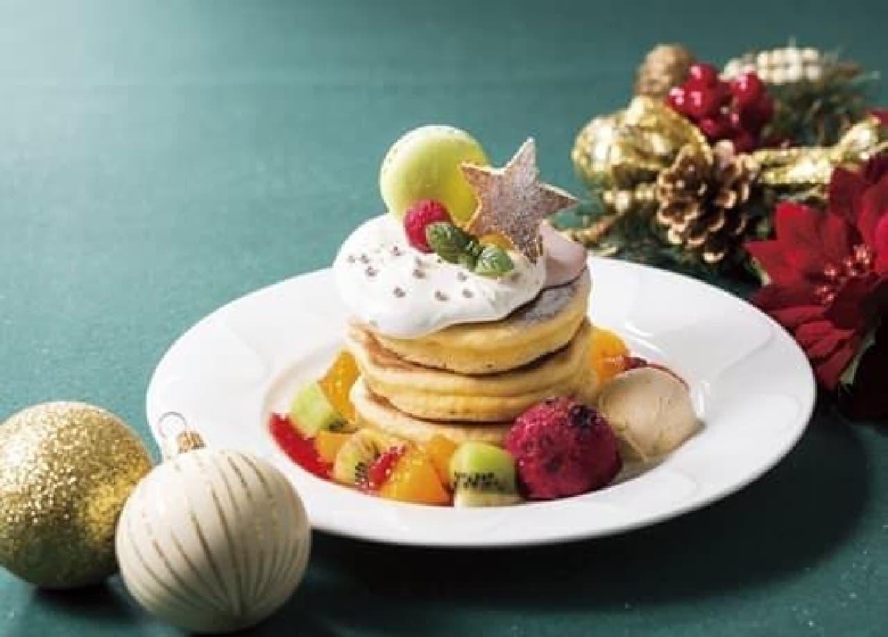 期間限定!クリスマスパンケーキ