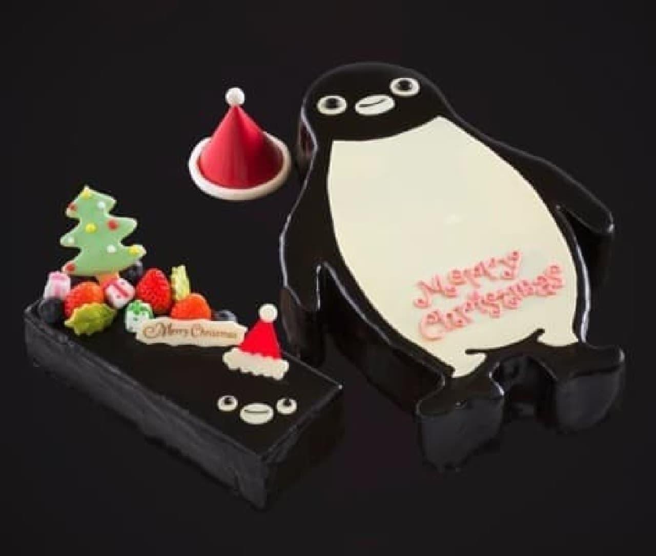 Suica のペンギンがクリスマスケーキになった!  (c)C.S/JR東日本/D