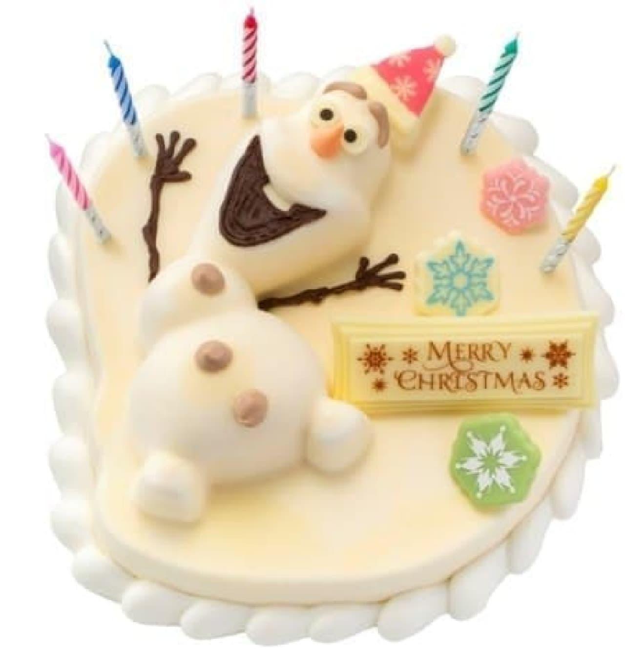 クリスマス向けに販売され、各店で完売が続出した  「'オラフ'フローズンクリスマス」