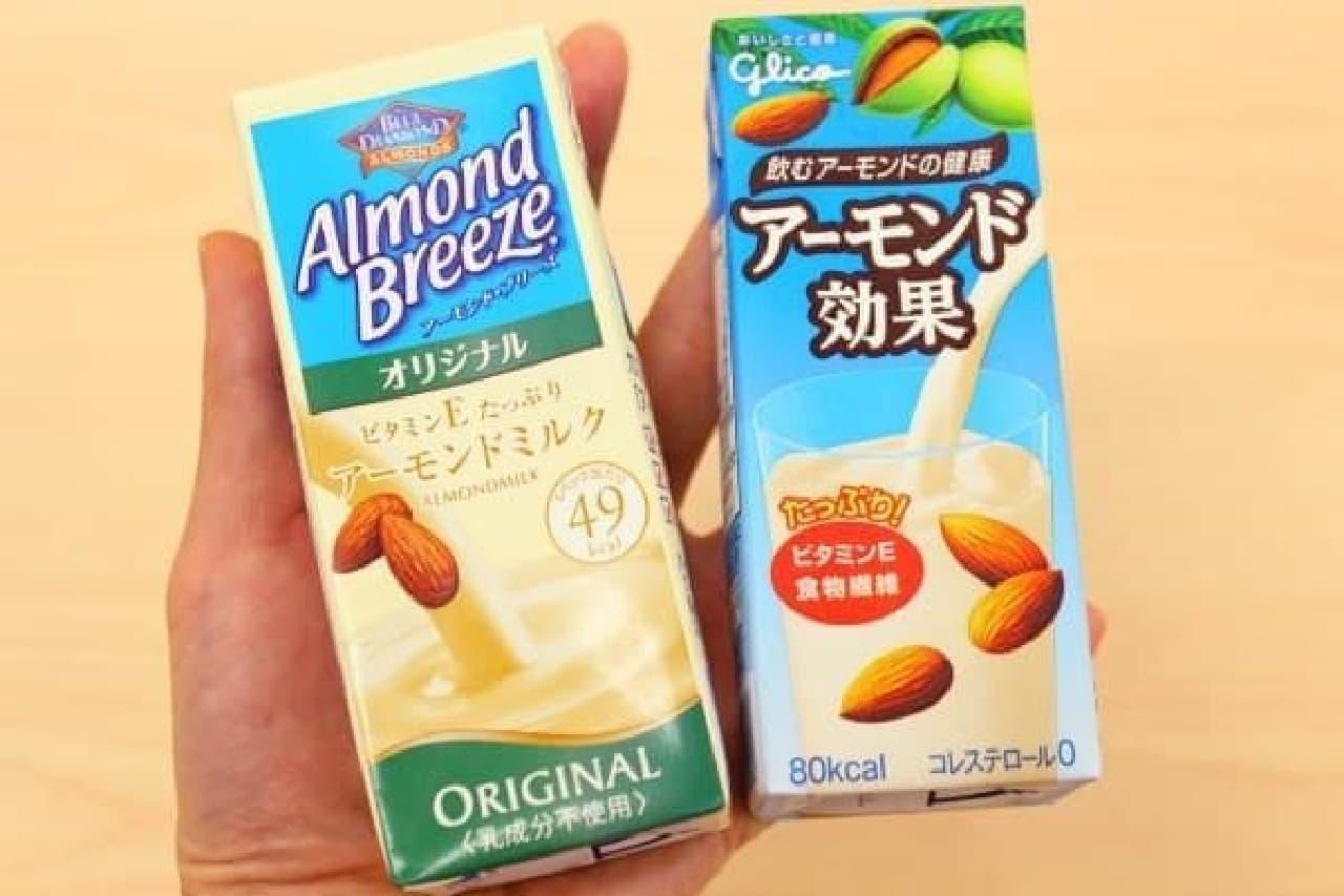 アーモンドミルクはさらに存在感を増す?