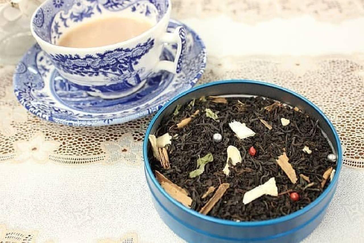 茶葉の彩りも可愛い「クリスマスティー」