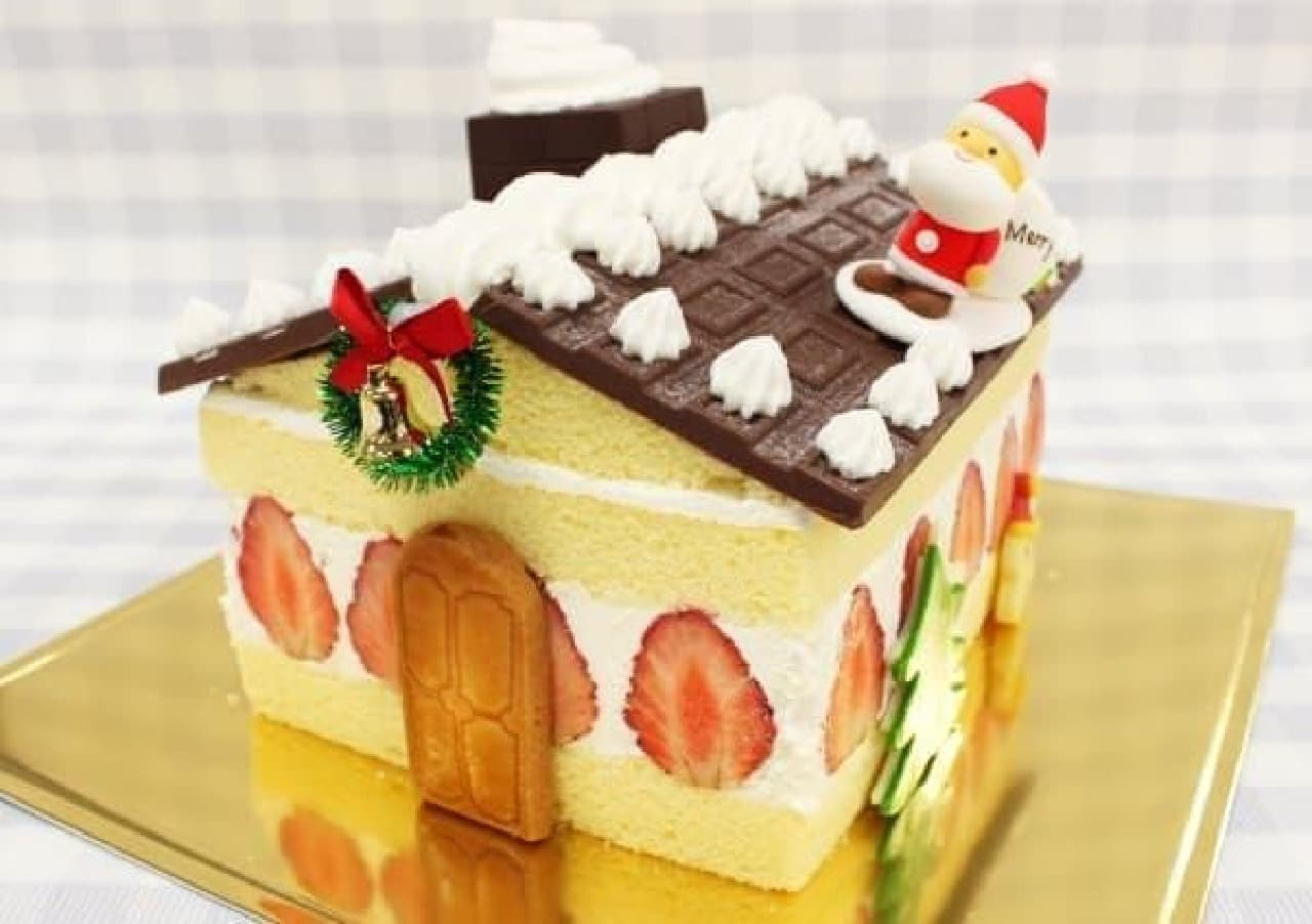 夢のようなクリスマスケーキが登場!