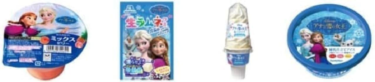「アナと雪の女王」をイメージした商品も続々登場
