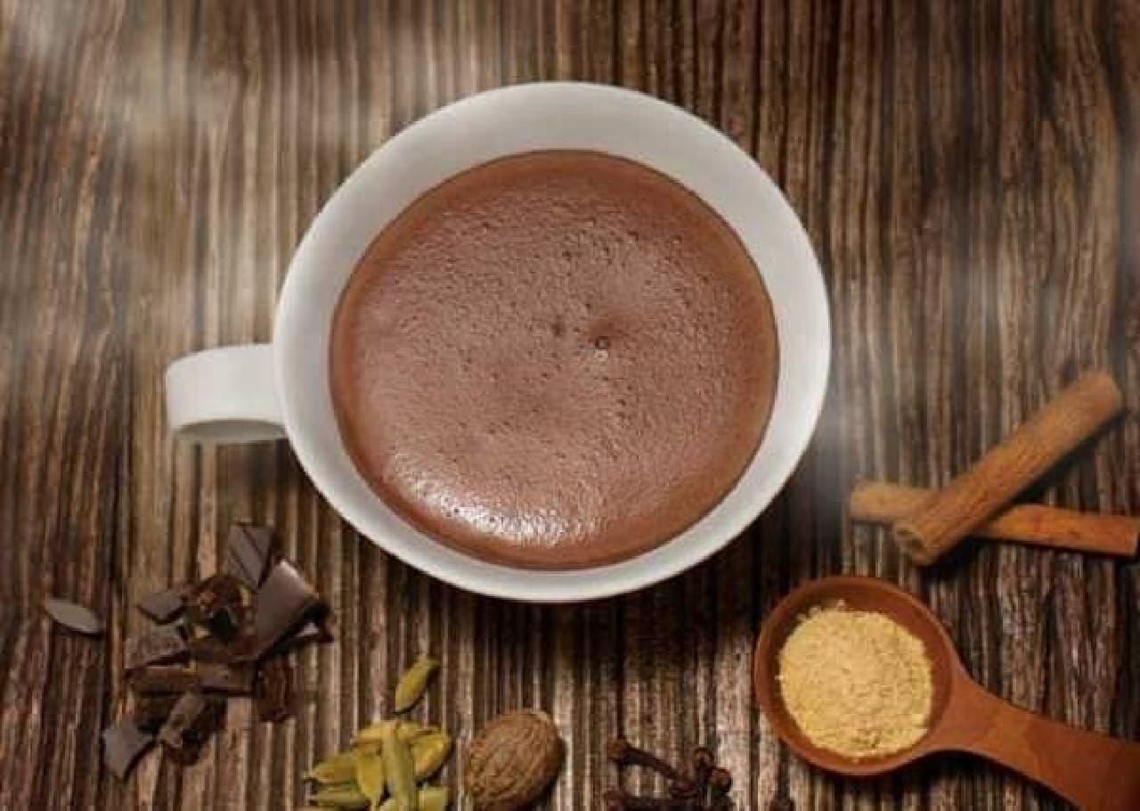 寒い冬にほっこり温まる!ショコラスペキュロスドリンク