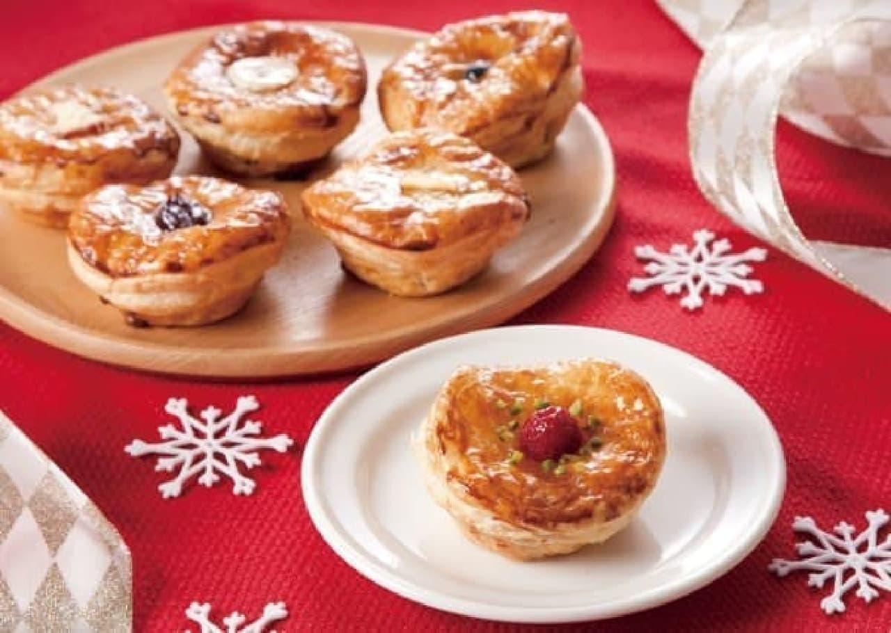 行列のできる焼きたてパイ専門店から「クリスマスボックス」が登場