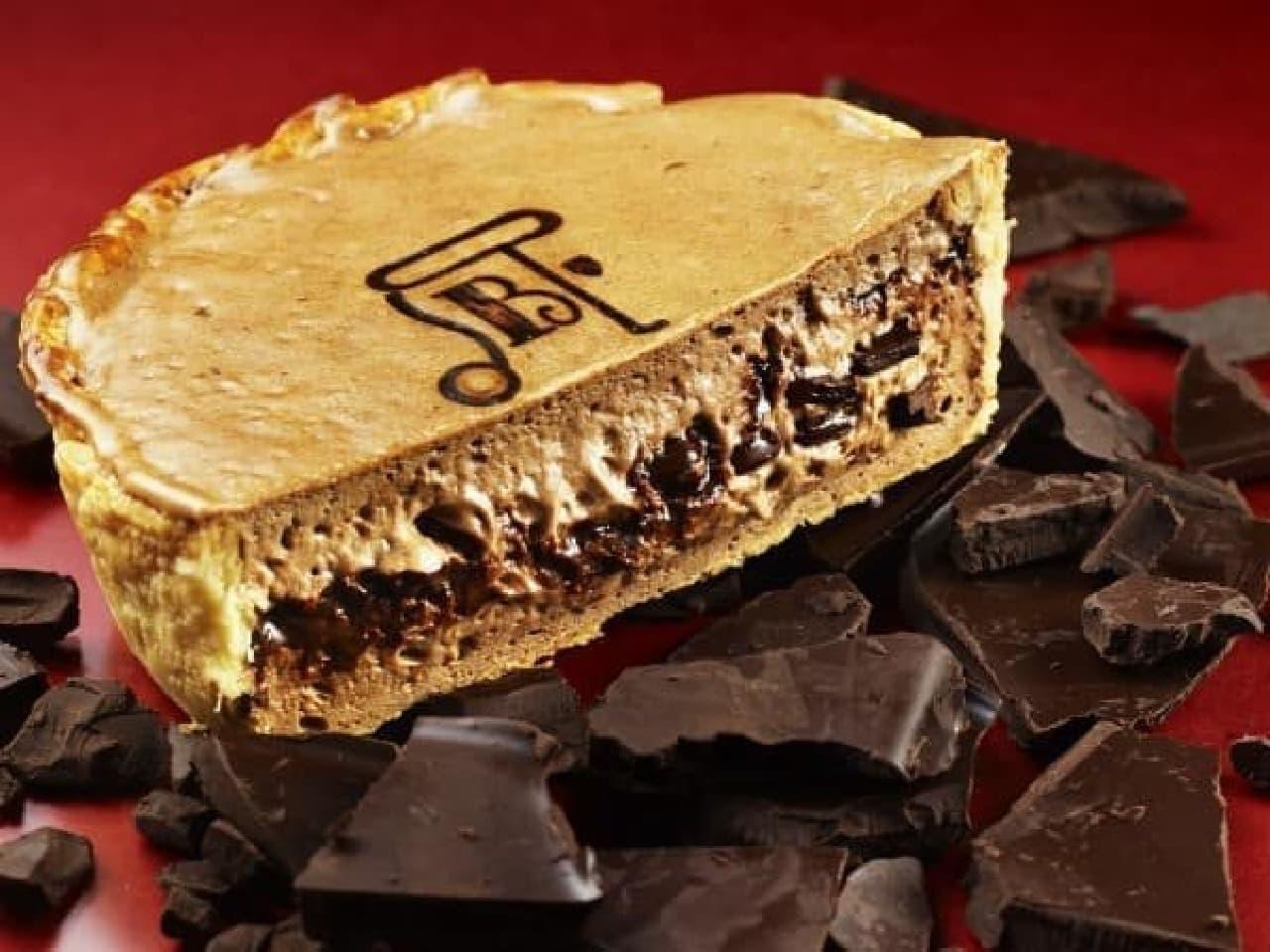 濃厚チョコレートがとろけ出す…