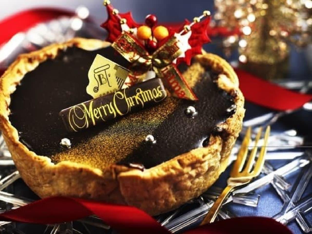 今年のクリスマスはパブロのチョコチーズタルトでお祝い!