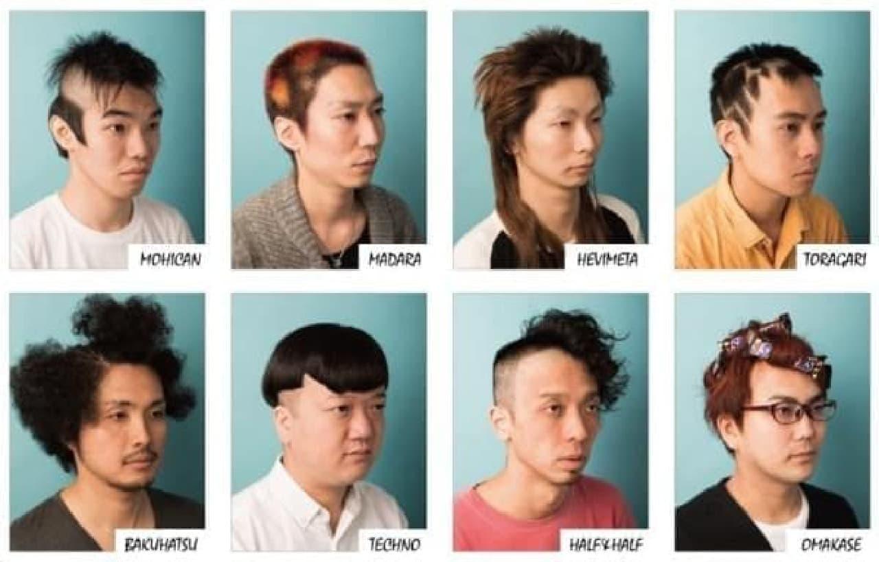 どのヘアスタイルがお好み?