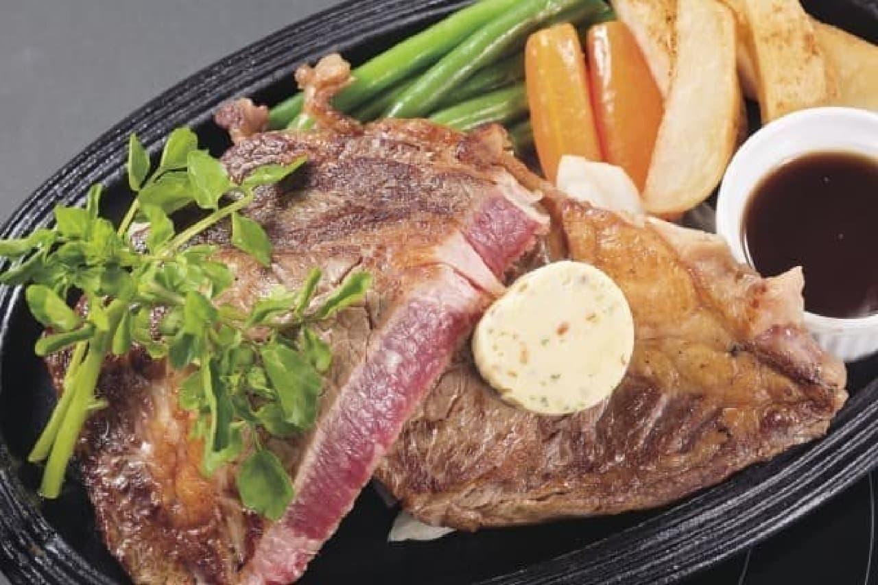 """""""高品質""""な肉を使ったステーキを、リーズナブルに!"""