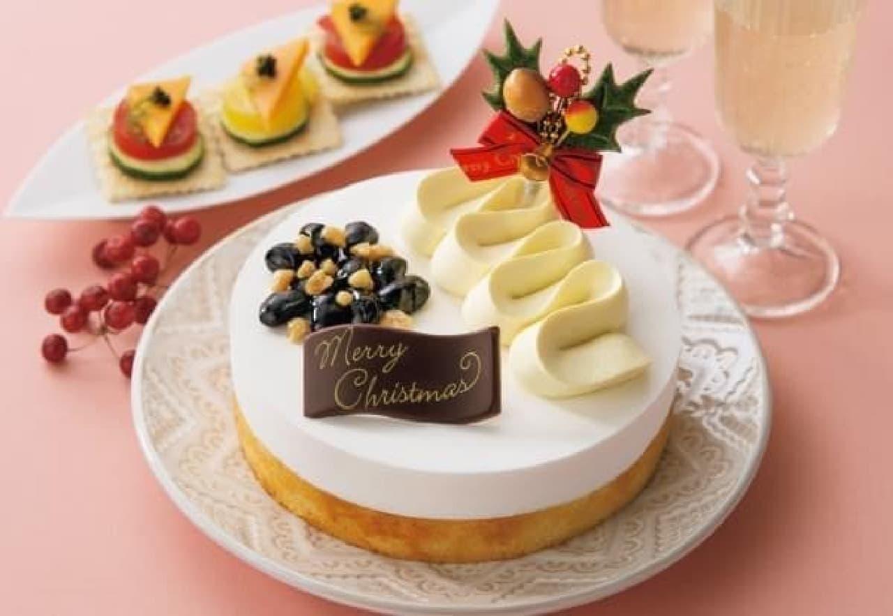 """味、食感、見た目が楽しめる""""和風""""クリスマスケーキ"""