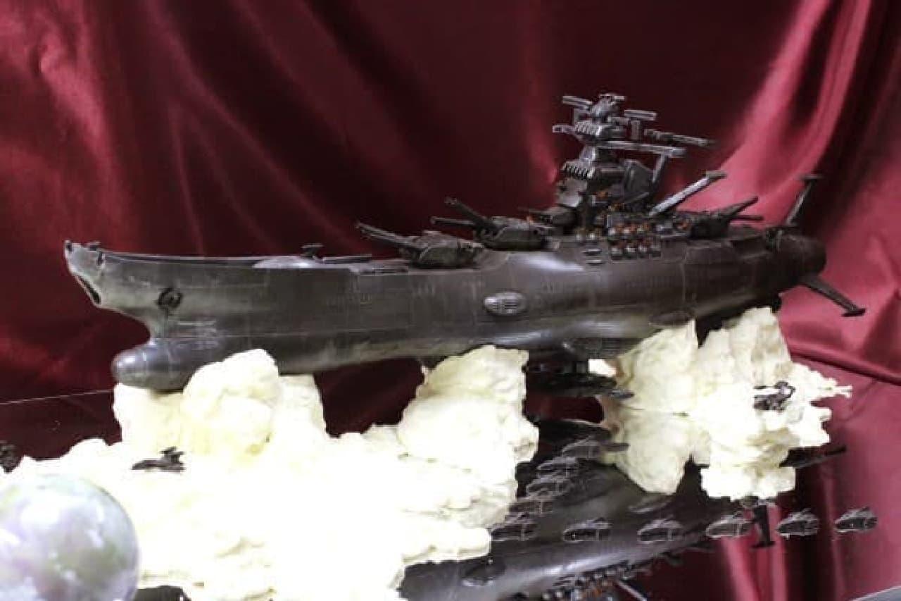 チョコで「宇宙戦艦ヤマト」を再現