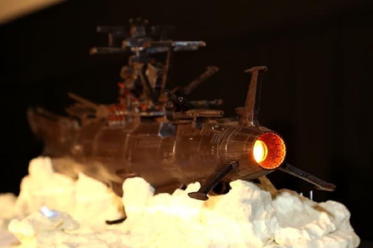 波動エンジンは光る!