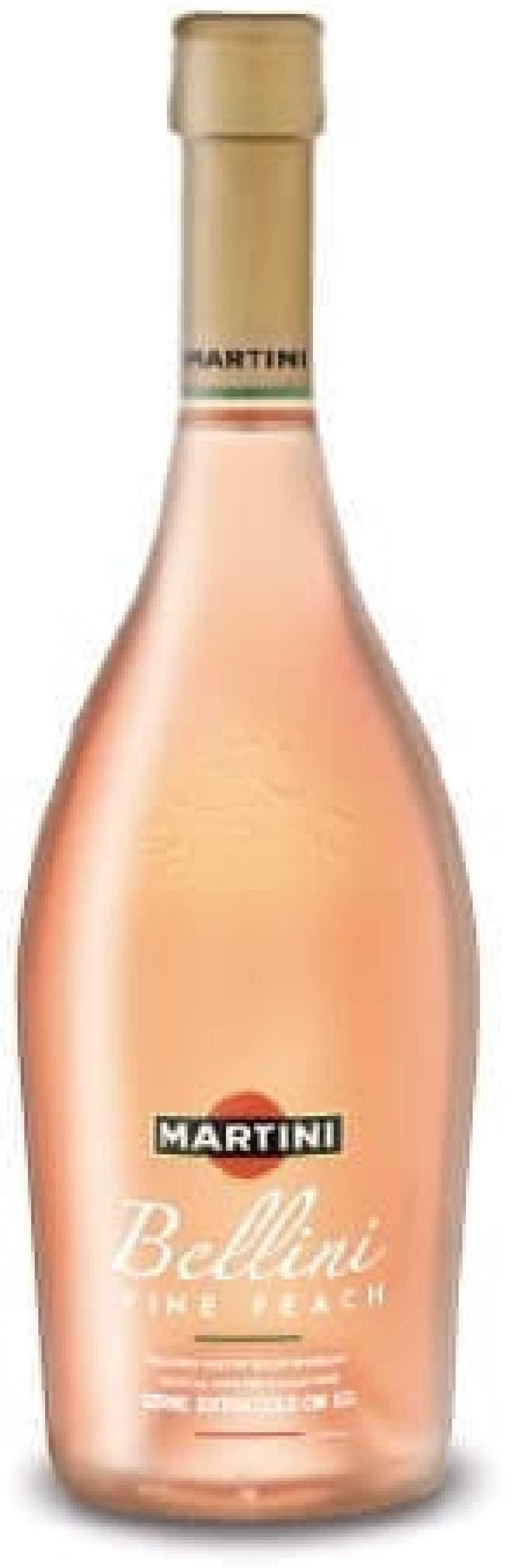 淡いピンクがはじける桃のカクテル