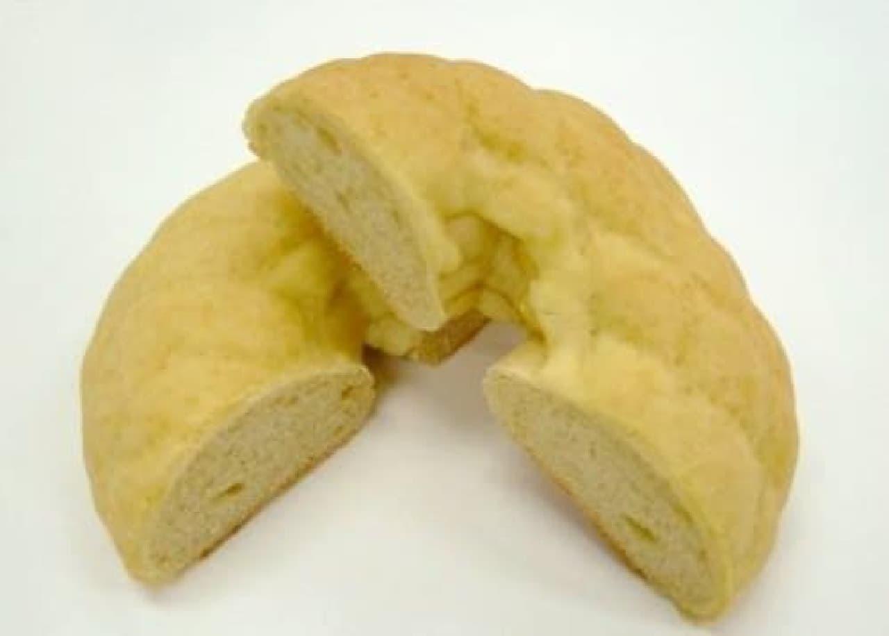 バターが香る、やさしいメロンパンの味わい