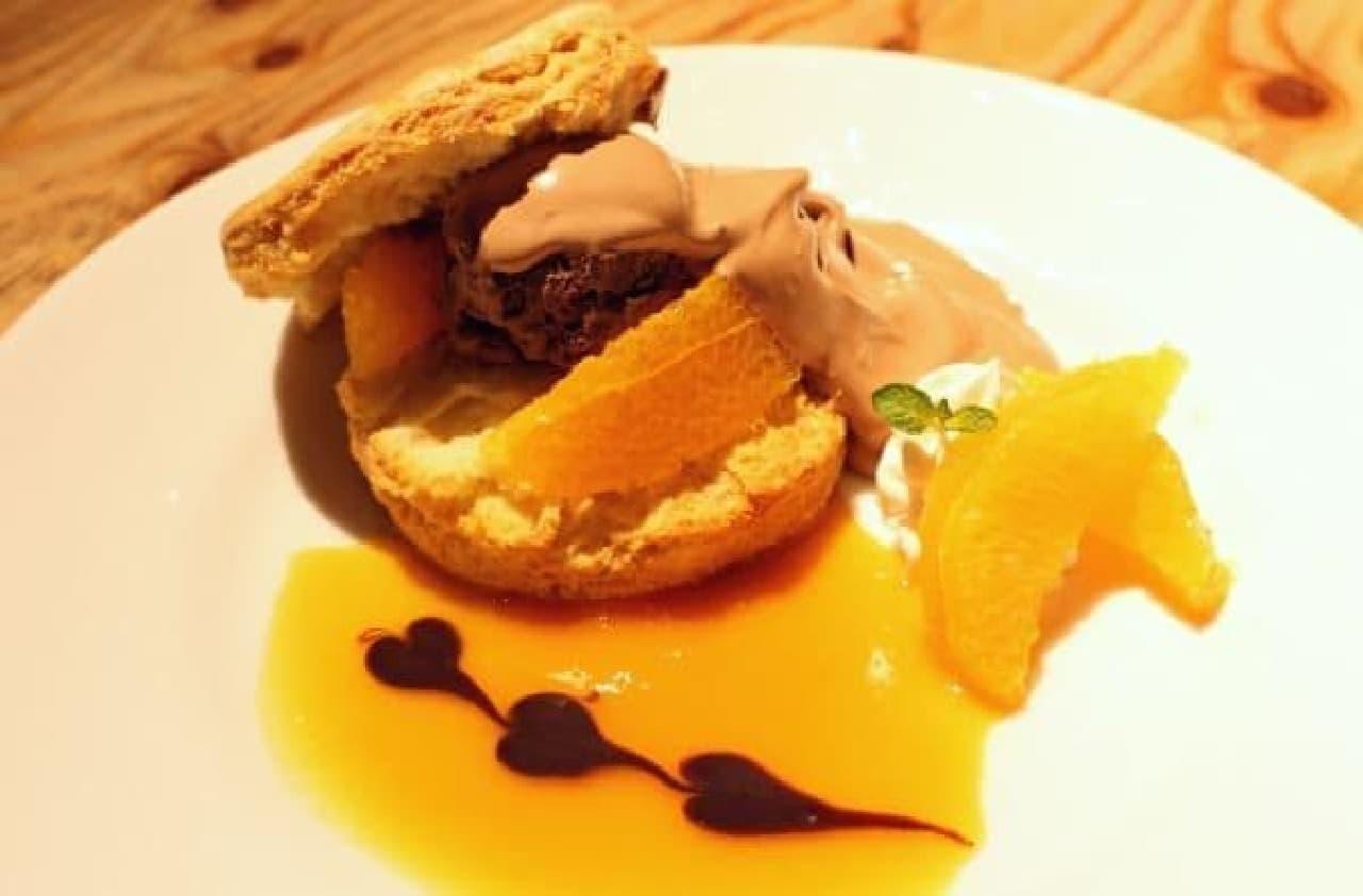 濃厚なチョコと爽やかなオレンジのマリアージュ