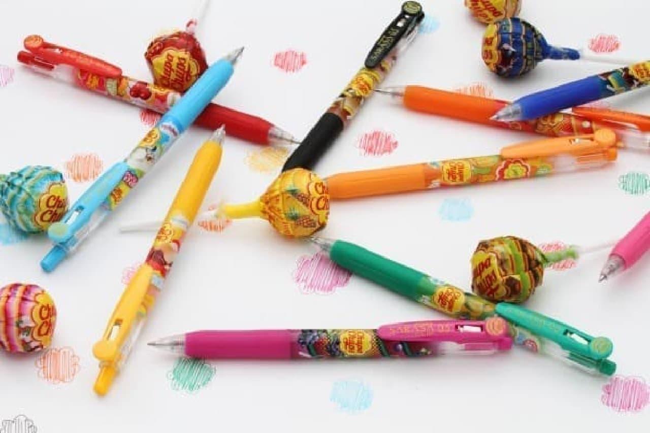 みんな大好きチュッパチャプスがボールペンになった!