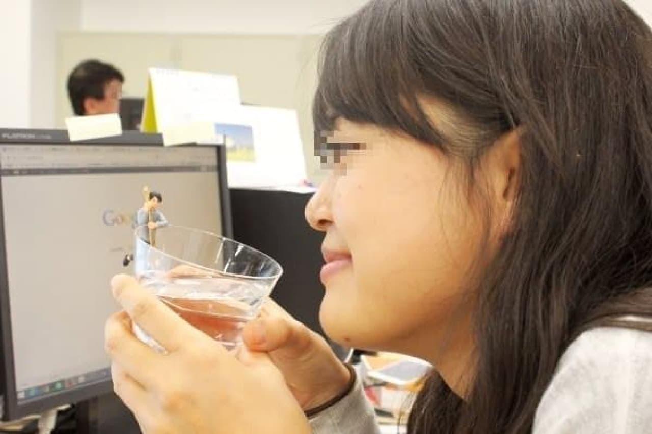 水とフチ田篤人と私(と上司)