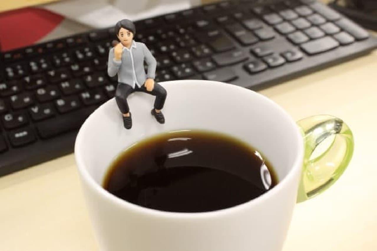 コーヒーとフチ田篤人