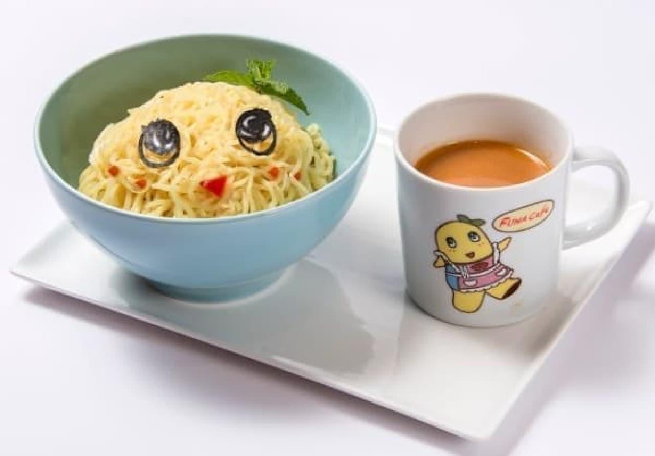 お土産マグカップ付き!「汁なっしー担々麺 ~担々スープ添え~」