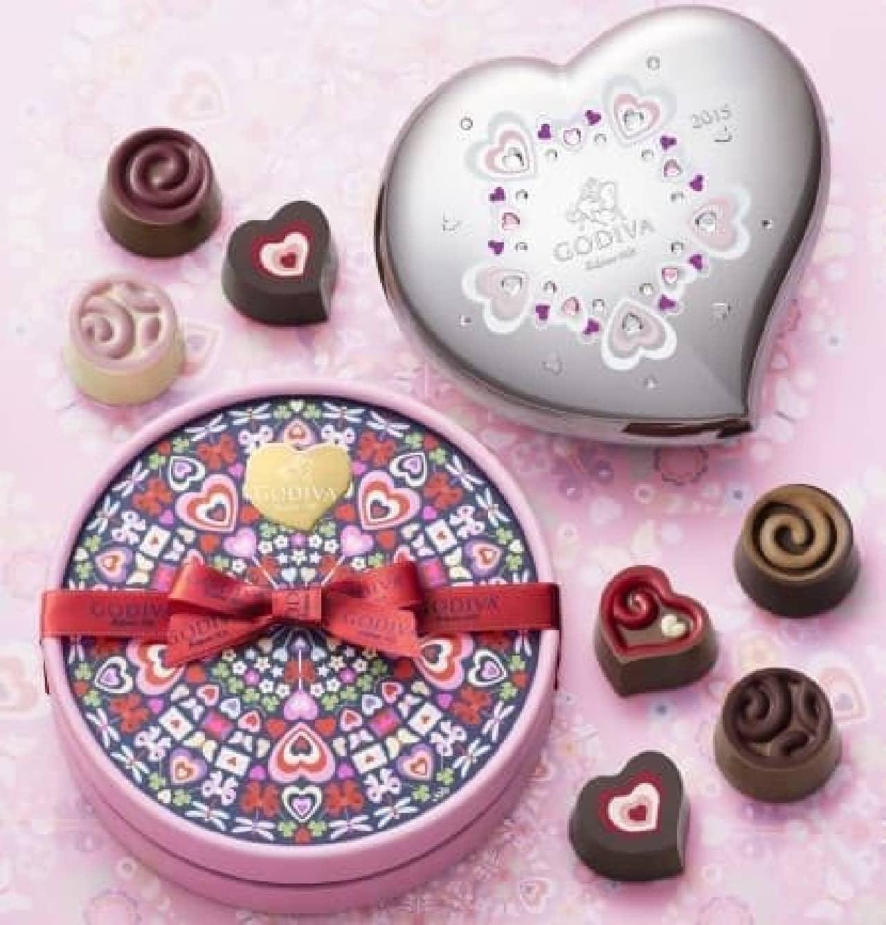 今年もゴディバにバレンタイン限定粒が登場!