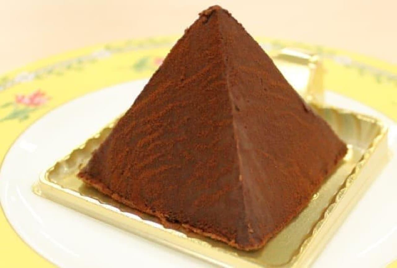 コロンとしたピラミッド型が可愛い