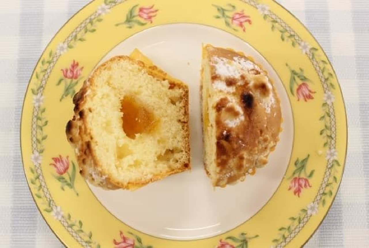 甘さ、酸味、苦みがバランスよく絡み合う「ママレード」  (トースターで表面がちょっと焦げたのはご愛嬌)