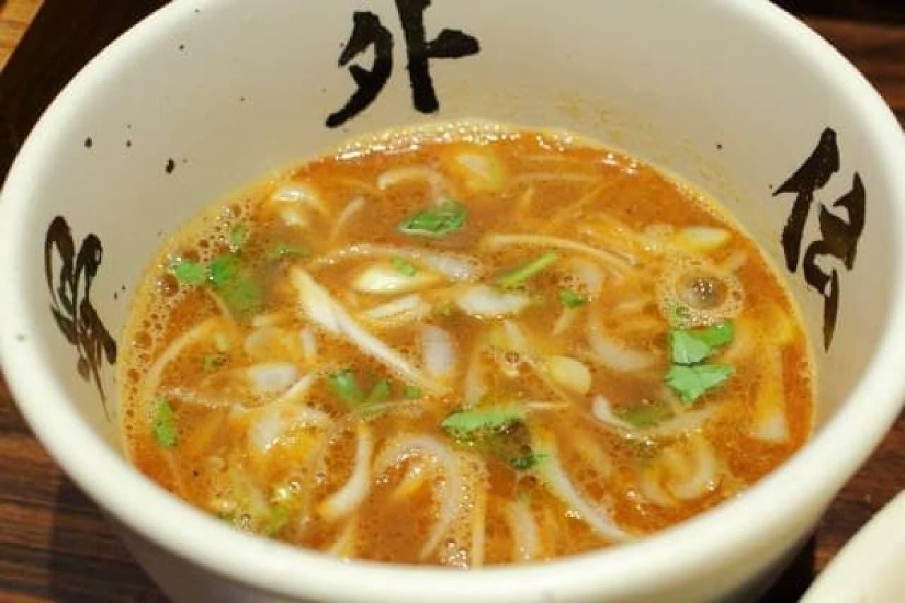 スープの変化にも注目!