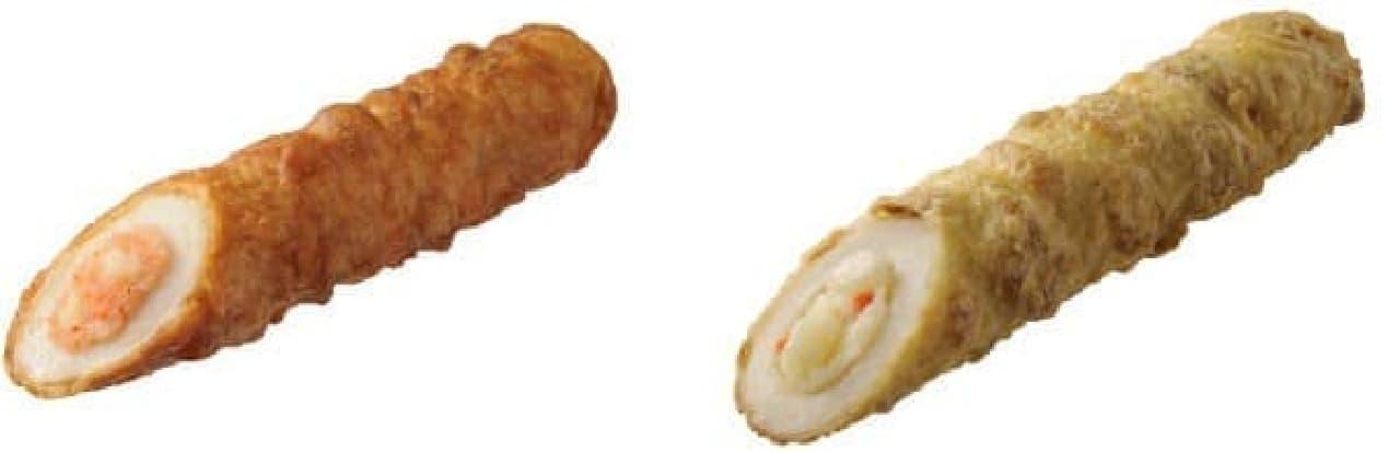 明太ポテサラ(左)と、ポテサラ(右)