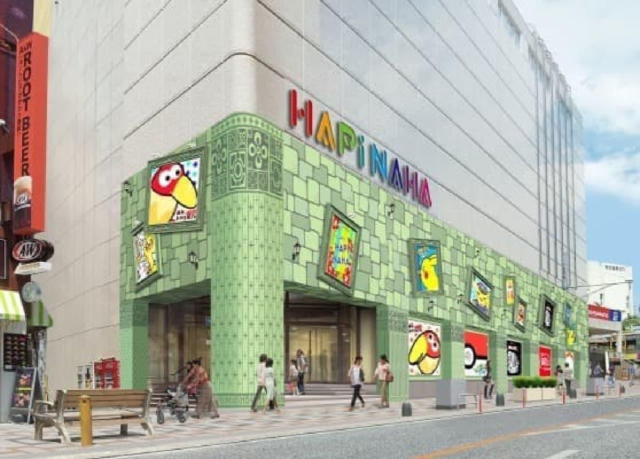 森永製菓のアンテナショップ「おかしなおかし屋さん」が沖縄初登場