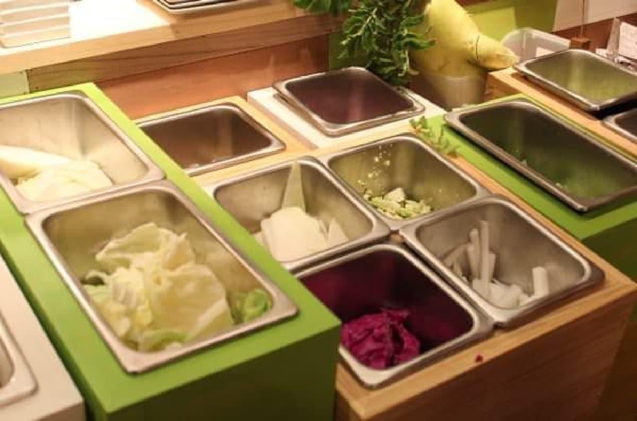 美味しくてヘルシーな野菜が食べられる菜園バル