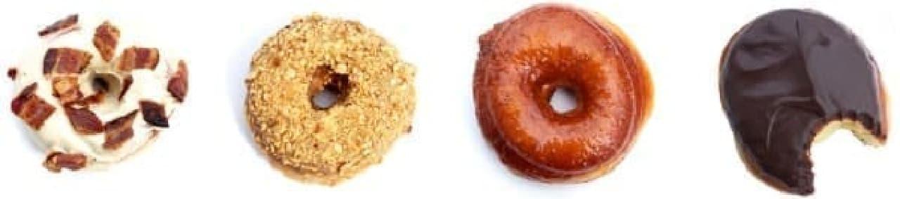グルメ系ドーナツに「ピザ味」も仲間入り?  (出典:Union Square Donuts 公式サイト)