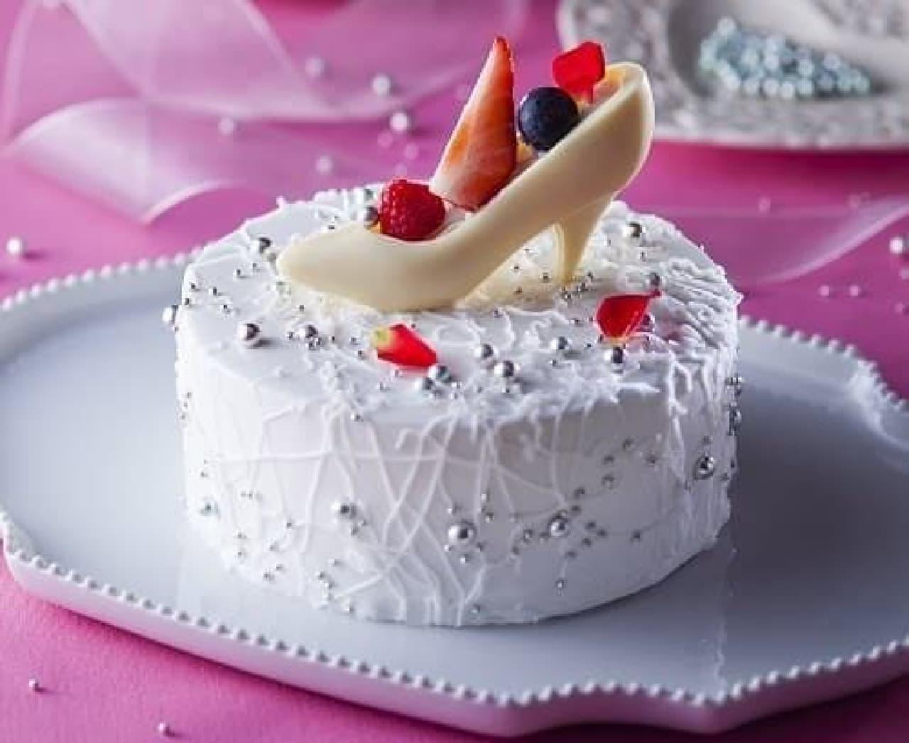"""プレゼントしたい&されたい""""ガラスの靴""""ケーキ"""