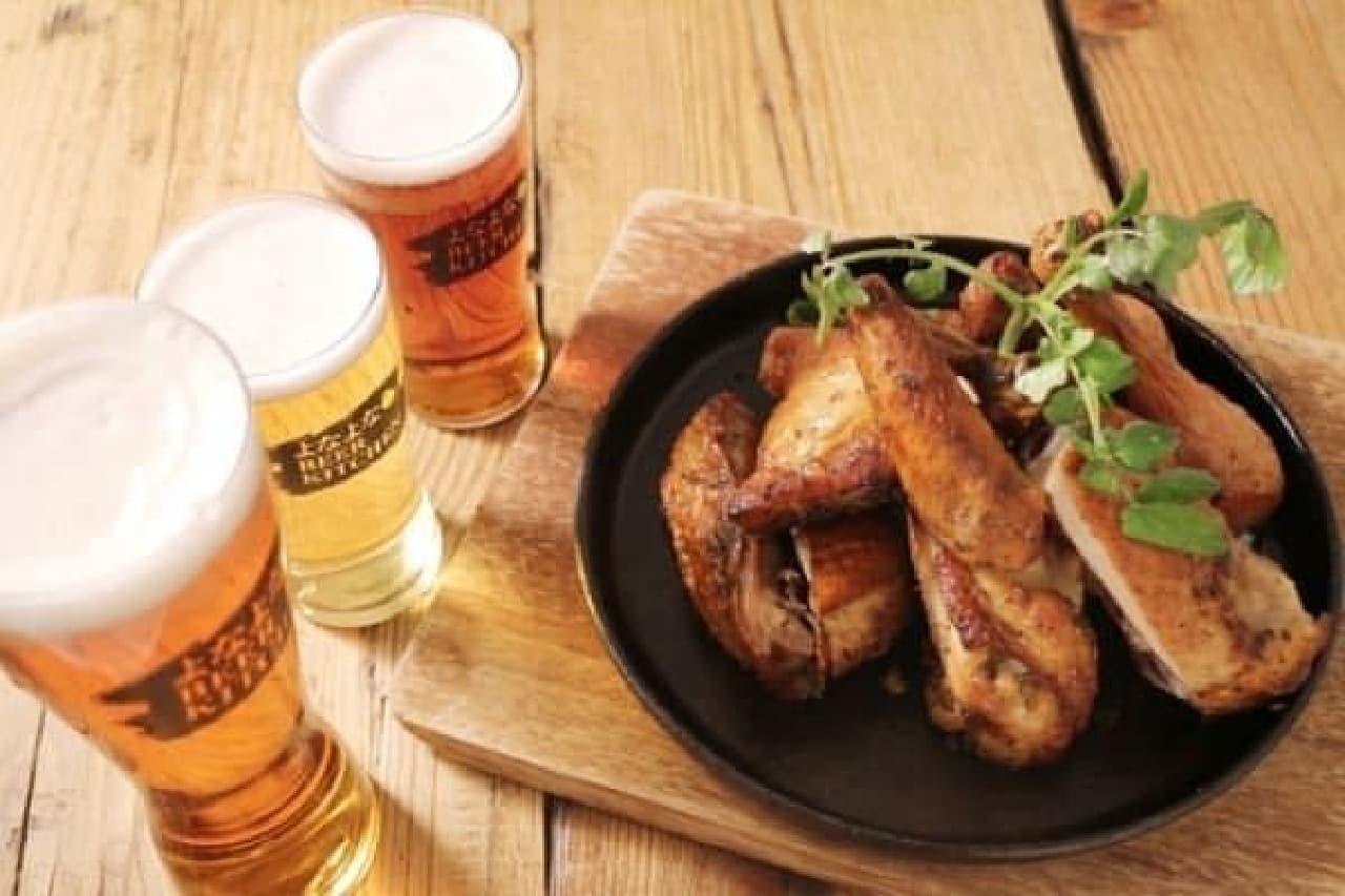 用意されるクラフトビールは10種類以上!
