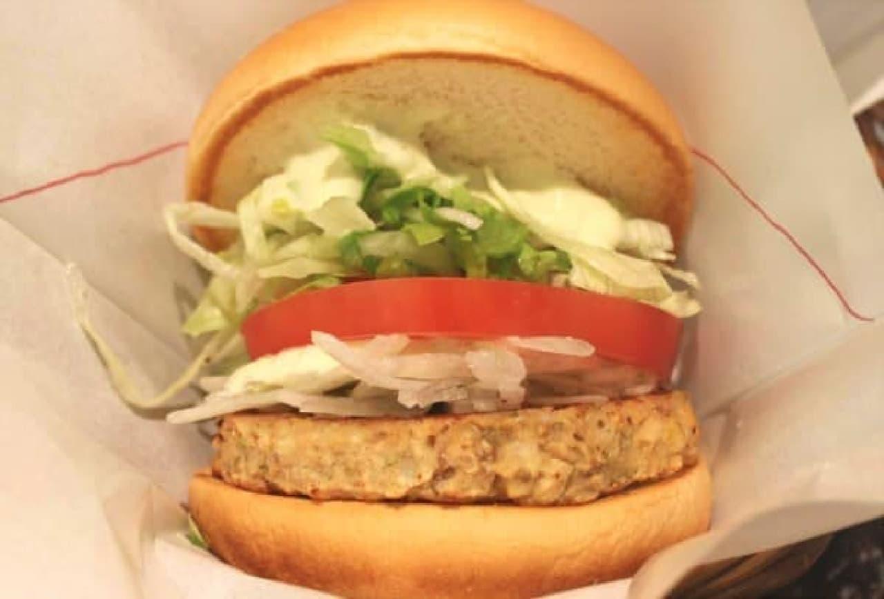 「ソイ野菜バーガー」アボカドソース