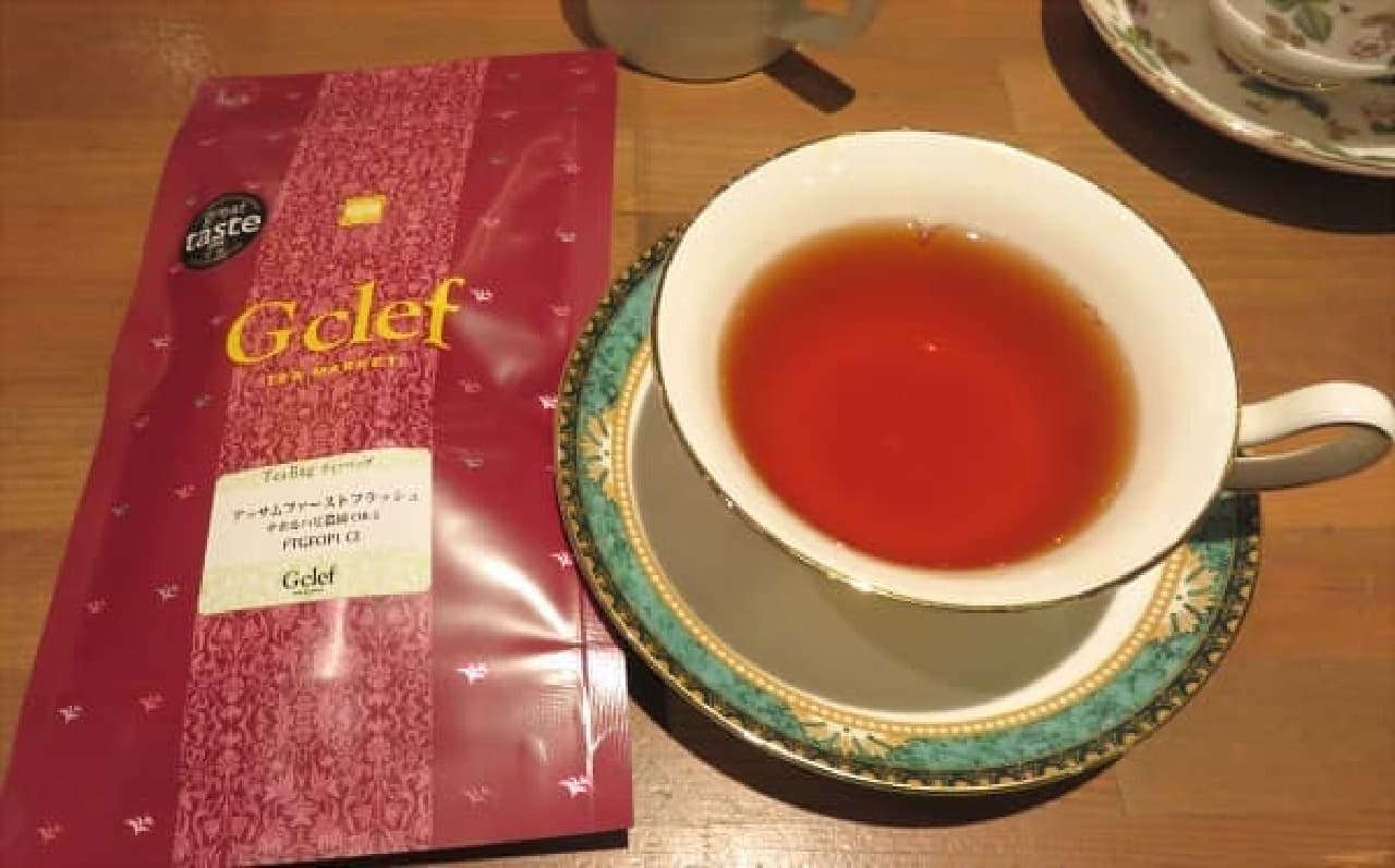 歴史のある農園で作られた、ウッディでスモーキーな香りのアッサム紅茶