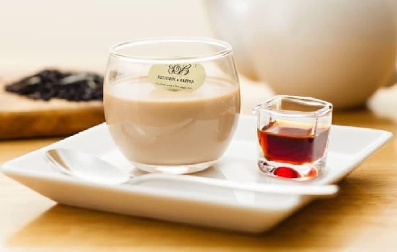 茶葉が香るティープリン