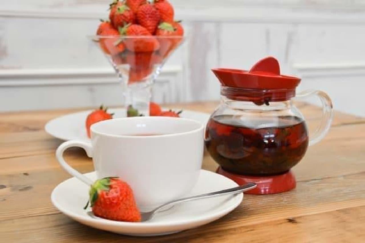 イチゴの紅茶「苺一会(いちごいちえ)」