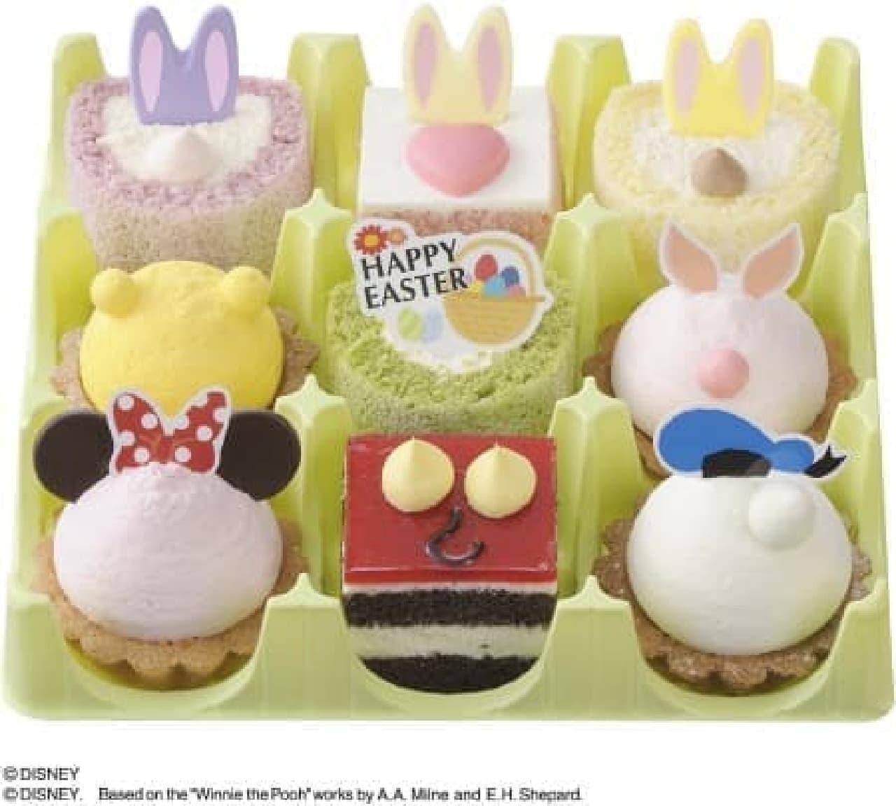 どのケーキがどのキャラクターかわかるかな?