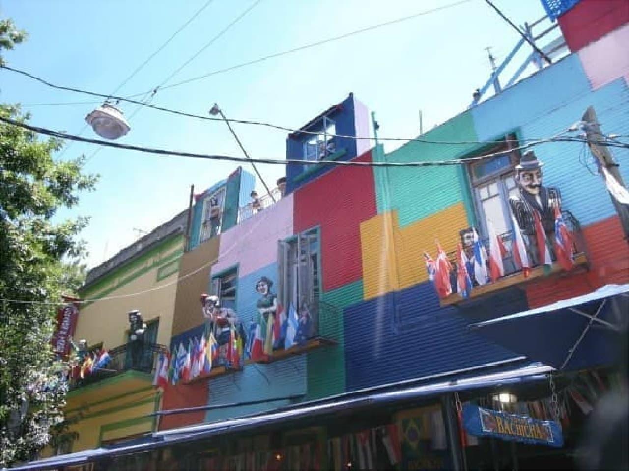 ブエノスアイレス「ボカ地区」 の街並み(写真提供:中尾さん)