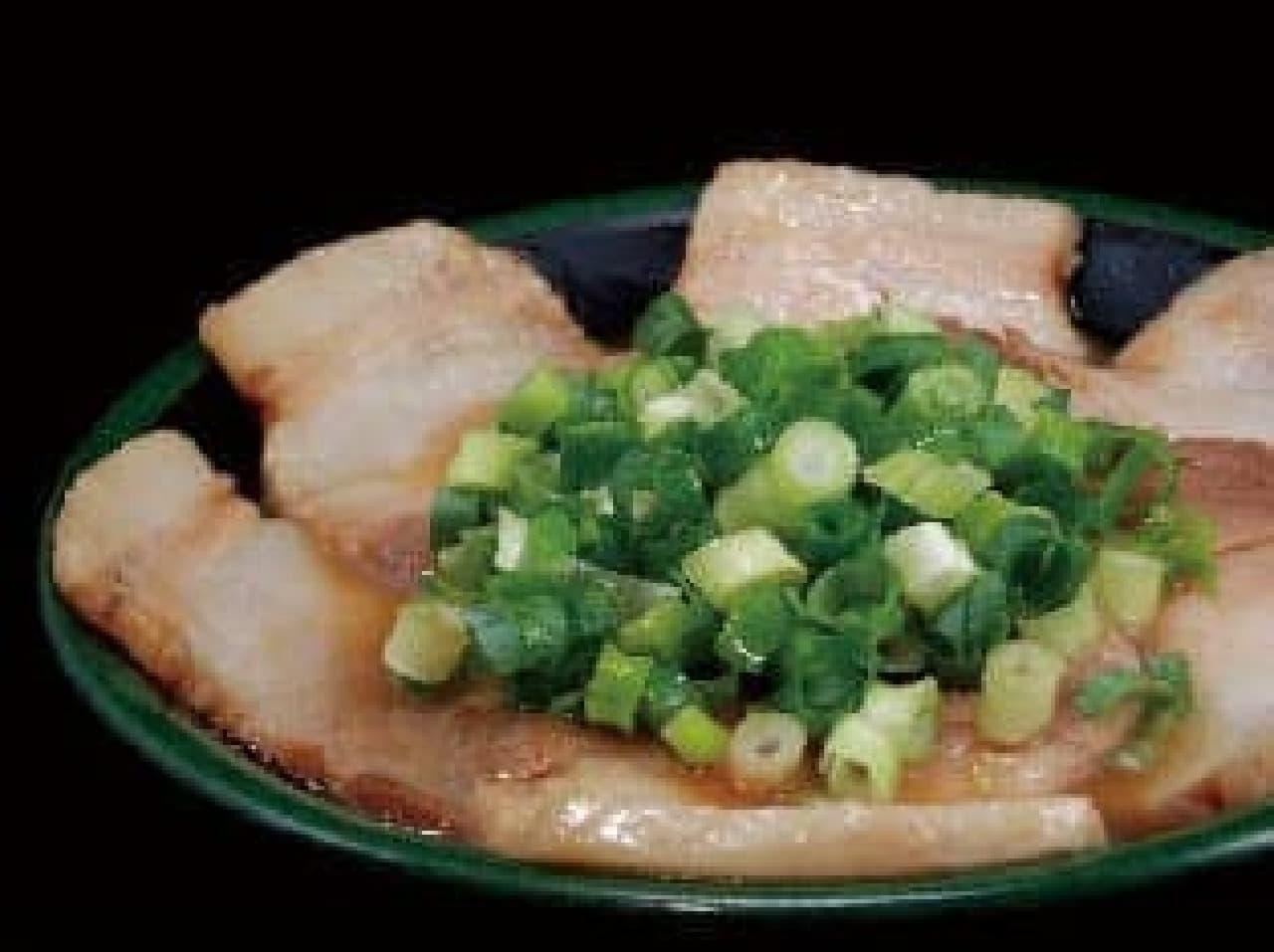 釜だれとんこつ焼き豚皿