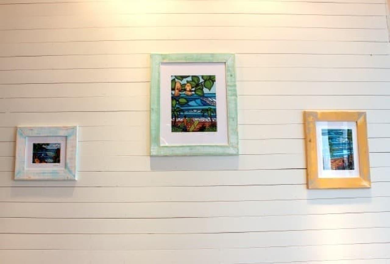 ハワイ在住のアーティスト ヘザー・ブラウンさんの絵