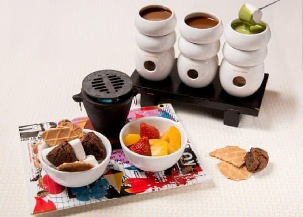 """フルーツד抹茶チョコ""""の意外な組み合わせを楽しんで"""