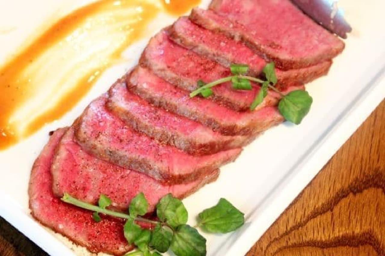 シンプルに宮崎牛の美味しさが楽しめる